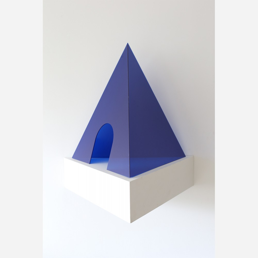 Mind Development Pyramid Dark Blue
