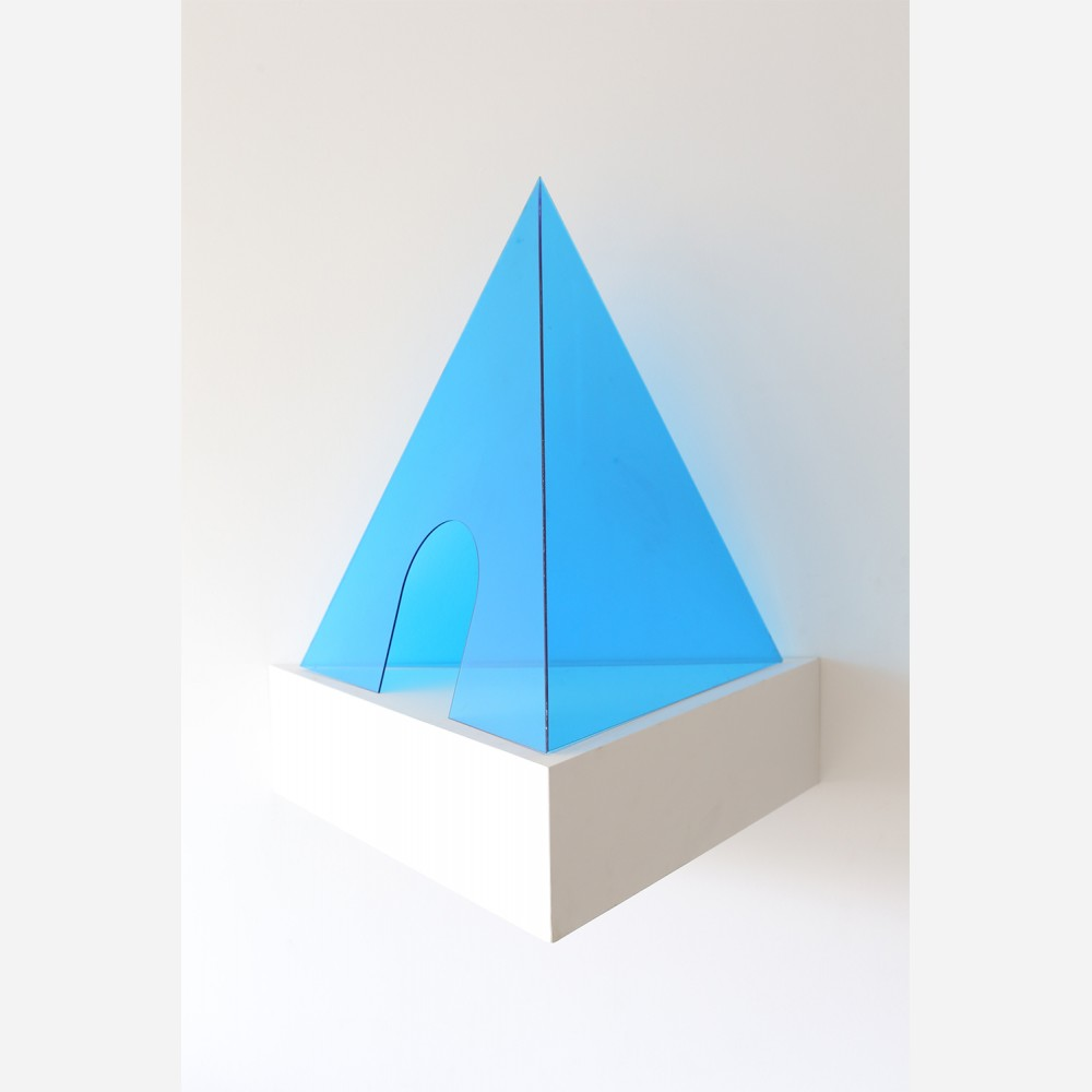 Mind Development Pyramid Light Blue