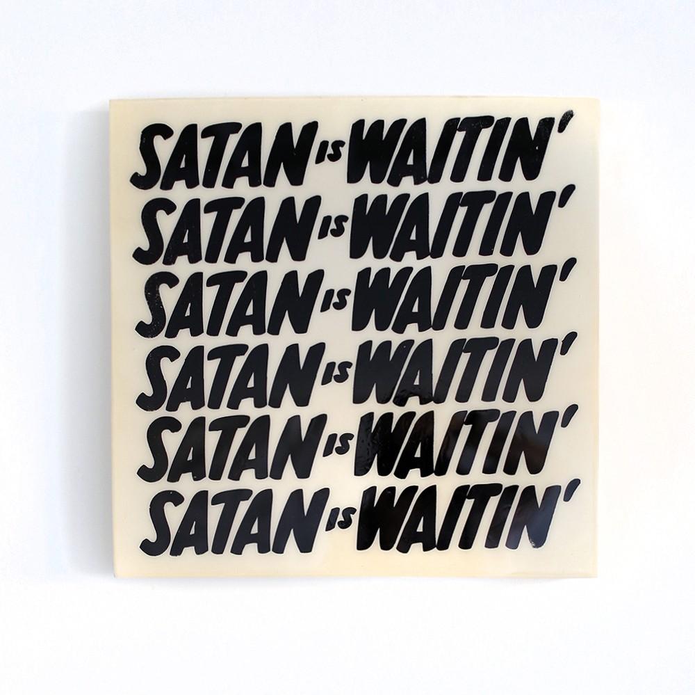 Satans Waitin (white)